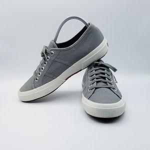 Superga 2750 COTU Classic Grey Canvas Sneakers